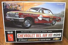 AMT '62 CHEVROLET BEL AIR 2 in 1 CUSTOMIZING KIT 1/25 SCALE MODEL KIT