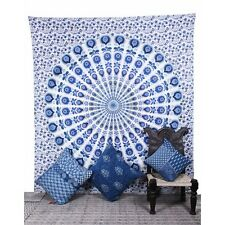 Beauty Summer Beach Blanket Home Decor  Ombre Mandala Wall Hanging Tapestry