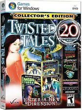 Twisted Tales 20 PC Games Windows 10 8 7 Vista XP Computer hidden object seek