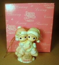 Precious Moments 2004 Our First Christmas Together Ornament NIB