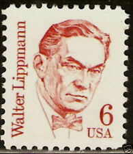 SC#1849 6c Walter Lippman Great American Single MNH