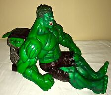 The Incredible Hulk 2002 punching toy handheld trigger talking Marvel 14""