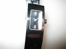 #334 ladys stainless steel mirrored face FENDI  watch bracelet