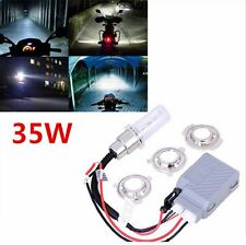 HID kit 35Watt Conversion 35w H6 BA20D Bi-Xenon Hi/Lo Light Bulb Set Headlight