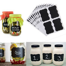 36PCS Jars Blackboard Stickers Chalkboard Lables For Wedding Seat Home Kitchen