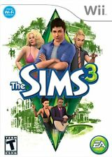 The Sims 3 [Nintendo Wii Electronics Arts Exclusive Family Fun All Ages] NEW