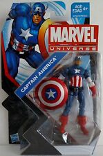 "CAPTAIN AMERICA Marvel Universe 4"" inch Action Figure #4 Series 5 2013"