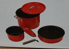 COLEMAN FAMILY COOKSET CAMPING COOKWARE NON-STICK NEW