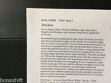 m1-3 ephemera 1984 pub article anchor barcombe bovet white