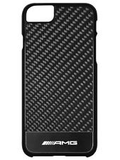 Genuine Mercedes-Benz iPhone® 7, AMG Black Carbon Phone Case B66954031 NEW