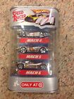 Hot Wheels Speed Racer Set 3 Die cast Cars MACH 4 5 6 NEW Target Exclusive 1:64