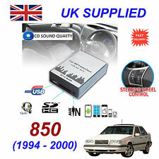 VOLVO 850 94-00 mp3 USB SD CD AUX Input Adattatore Audio Digitale Caricatore CD Modulo