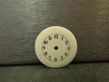 ancien cadran emaillé montre a gousset 2,4 cm 6