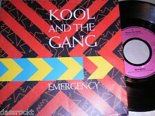 "7"" - Kool & The Gang / Emergency & You are The One - PROMO 1985"
