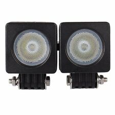 2X Cree LED 10W 800LM Flood Work Light Car boat Truck Driving Bike ATV 12V 24V