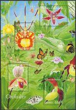 2005 FRANCE BLOC N°81** BF fleurs orchidées, TB, Flowers Orchids sheet MNH