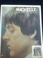 Michelle (Sheet Music) 1965 John Lennon/Paul McCartney The Beatles