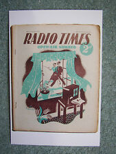NEW Postcard Vtg The Radio Times Cover 3.6.38 June 1938 Open-air Walking Hiking