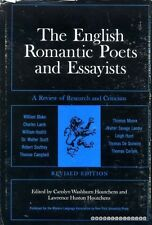 Houtchens, Carolyn Washburn & Lawrence Huston THE ENGLISH ROMANTIC POETS AND ESS