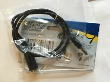SMK TS-9 TO FME-M Patch Lead NETGEAR Nighthawk M1 Single Straight Connector. B/N