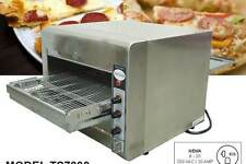 "OMCAN CE-TW-0356 Conveyor Commercial Countertop 14"" Pizza and Baking Oven NEW!!"