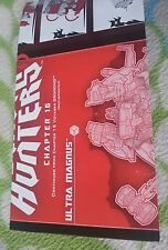 TRANSFORMERS BEAST HUNTERS ULTRA MAGNUS INSTRUCTION BOOKLET MINT