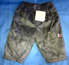 Boys French Designer Miniman Charcoal Grey Moleskin Trousers Age 6m RRP £33.99