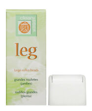 Large Roller Heads Leg for Waxing & Hair Removal by Clean + Easy (Pack of 3)