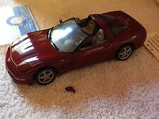Franklin Mint 2003 Chevrolet Corvette  50th Anniversary 1:24 Diecast Car