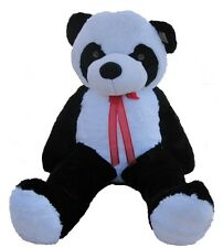 "Giant Huge Big 63"" Panda Bear Stuffed Plush Animal Toy Christmas Gift"