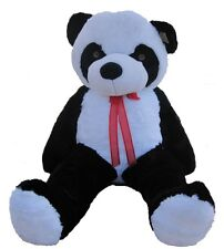"Giant Huge Big 63"" Panda Bear Stuffed Plush Animal Toy Valentine's Gift"