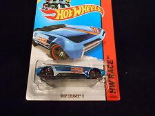 HW HOT WHEELS 2014 HW RACE #158/250 WHIP CREAMER II HOTWHEELS BLUE TRACK READY