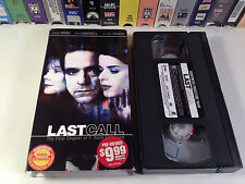 Last Call: The Final Chapter Of F. Scott Fitzgerald Rare TV Drama VHS 2002 OOP