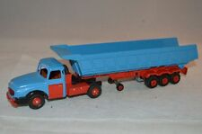 Dinky Toys 36 A Willeme truck with a Majorette trailer home made combination