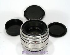 Rare 13 blades Helios-44 lens M42 mount adapted 2/58 mm .№0105488.Exc,CLA