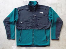 Vintage North Face Denali Fleece Jacket Size L Made in USA Green Winter Snow Ski