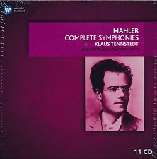 Klaus Tennstedt Mahler Complete Symphonies 11-disc CD NEW London Philharmonic