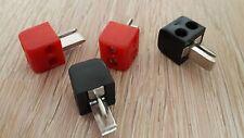 Mini LAUTSPRECHERSTECKER schraubbar Set mit 4 STÜCK ideal für PKW Oldtimer