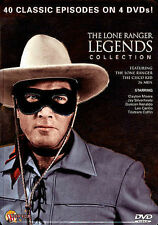 The Lone Ranger Legends Collection (DVD, 2013, 4-Disc Set, Tin Case) BRAND NEW