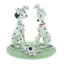 "101 Dalmatians ""One Big Happy Family"" Figurine Disney Magical Moments Gift Boxed"