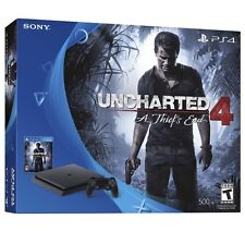 NEW Sony Playstation 4 Slim 500GB Uncharted 4 Console Bundle