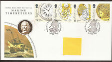 GB fdc marine Timekeepers 1993