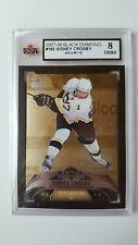 Sidney Crosby 2007-08 Black Diamond Gold Exclusives 7/10 KSA Graded 8!