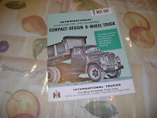 Vintage International Gas or LPG Model BCF-182 Compact Design 6 Wheel Brochure