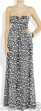 DVF Diane von Furstenberg New Krystle cotton Cover Up Maxi Dress cat P XS $265