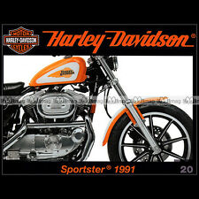 HARLEY-DAVIDSON 20 XL 883 1200 SPORTSTER '91 DRAGSTER SNOWBIKE ELECTRIC CAR GOLF
