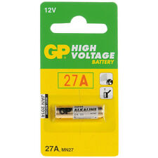 Value Range GP 27A 12V High Voltage Alkaline Battery (MN27) New Pack of 10