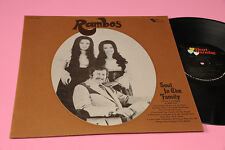 RAMBOS LP SOUL IN THE FAMILY ORIG 1972 EX+ !!!!!!!!