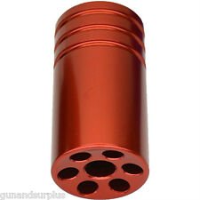 Ruger 10/22 22/45 Muzzle Brake Compensator Threaded 1/2-28 TPI 1022 RED  D3