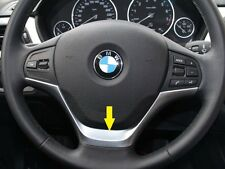 BMW 1 Series F20 114 116 118 2013 2014 Chrome Steering Wheel Cover trim